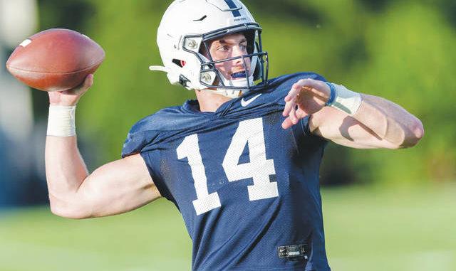 Clifford prepares to take reins of Penn State's offense