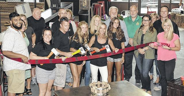 'Kick ax' time to be had at newly opened Hatchet Factory