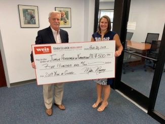 Year of Giving: Times Leader, Weis make award to Junior Achievement