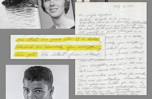 Kopechne family to auction off letter from Muhammad Ali to
