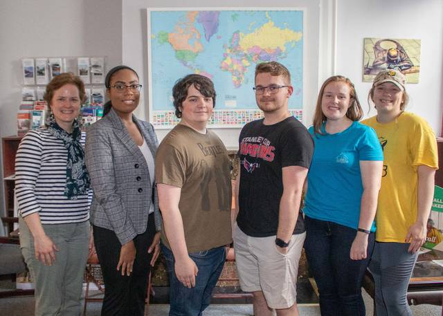 Five King's College students will study abroad