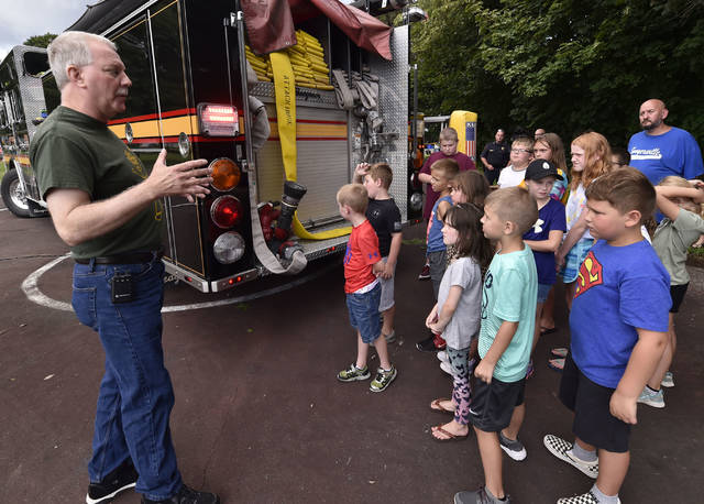 Ted Video 1602 How Childhood Trauma >> Children Learn From Firefighter Police Officer About Safety