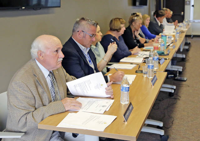 Seven Luzerne County Council members voted Tuesday to appoint Rick Morelli to a vacant council seat during an on-the-road meeting at the Back Mountain Regional EMA building in Lehman Township. Councilman Stephen A. Urban, in the first seat, was the lone vote against Morelli's nomination in the final confirmation decision.