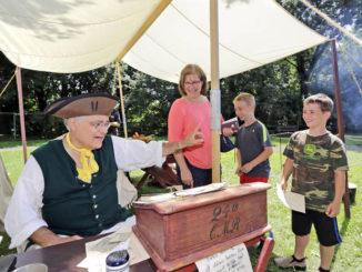 Denison House hosts Revolutionary War-era encampment