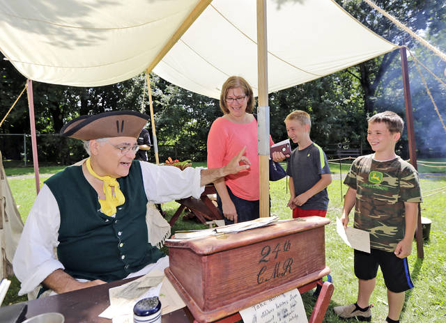 Denison House hosts Revolutionary War-era encampment