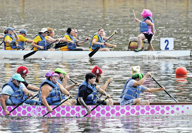 Annual dragon boat races held on Susquehanna River