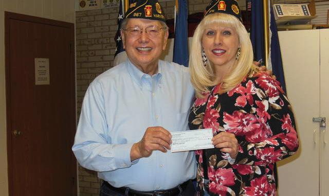 The Harveys Lake American Legion 967 donates to VA Hospital