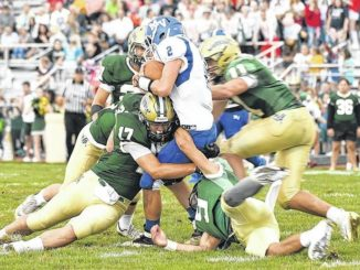 WVC football: Wyoming Area smothers Mid Valley with huge first half