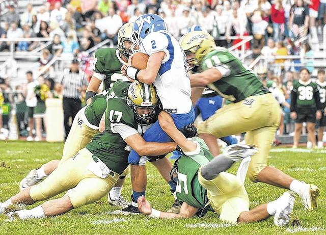 WVC football: Wyoming Area smothers Mid Valley with huge
