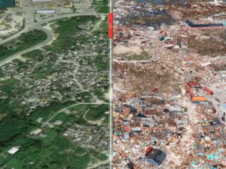 Hurricane Dorian – Bahamas Before and AFter