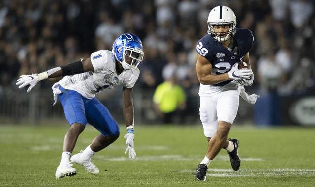 Reid's pick-six helps Penn State erase stunning halftime