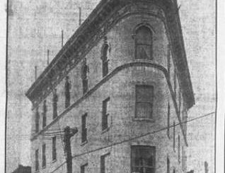 Look back: Flat Iron Hotel razed as part of city redevelopment