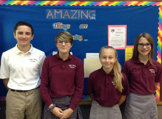 Wilkes-Barre Academy Student Council officers elected