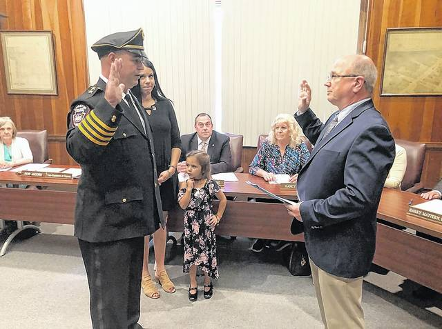 Kotchik sworn in as Kingston's new police chief | Times Leader
