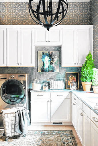 Ask A Designer Drab And Boring Not These Laundry Rooms Times Leader