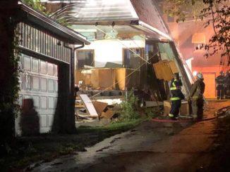 Explosion, fire damage Nanticoke home