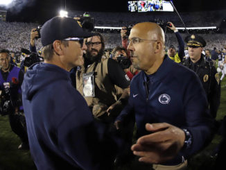 PSU weekend review: Harbaugh's officiating gripes don't sit well with Franklin