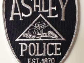 Ashley man charged with fleeing police