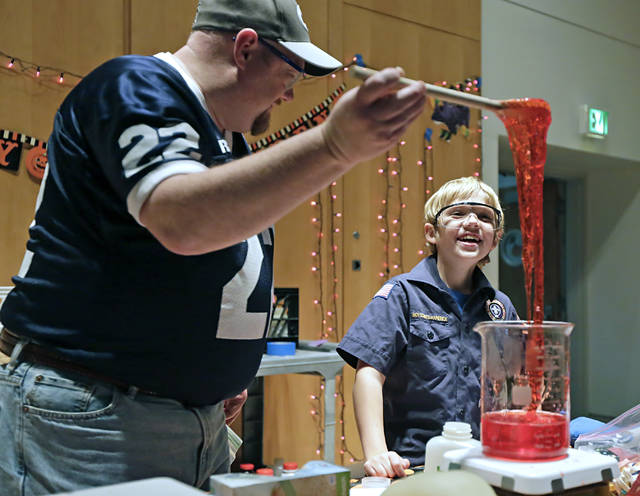 Things Go BOOM at King's College, for Halloween, science fun