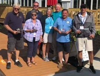 Harveys Lake Chapter Antique and Classic Boat Society represented at international boat show