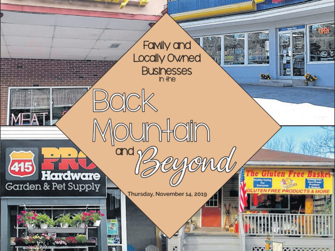Back Mountain and Beyond: November 2019
