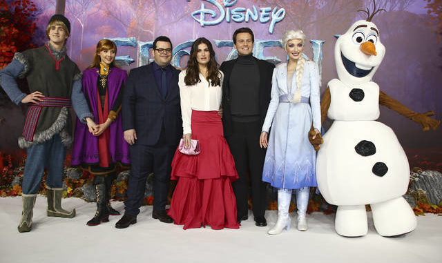 Frozen 2' heats up box office with $127M opening weekend