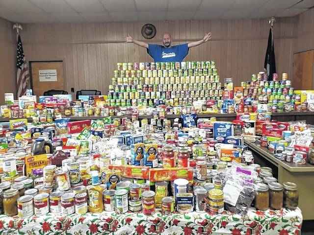 Swoyersville mayor's food drive nets 3,000 cans for needy