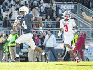 Top targer KJ Hamler exits early with injury in Penn State's win over Indiana
