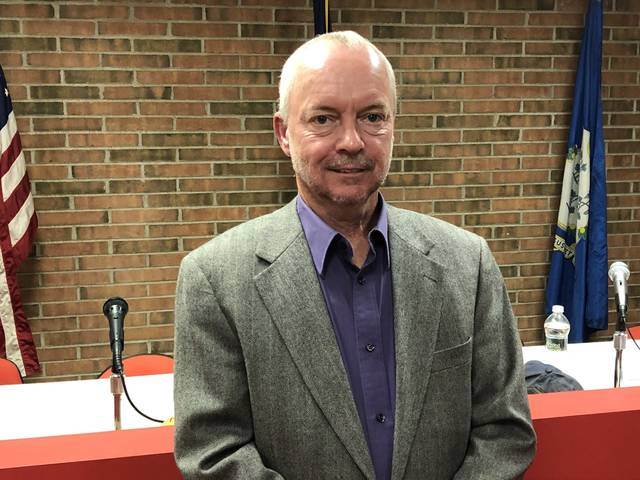 Ron Kobusky was named the newest member of the Plymouth Borough Council on Wednesday.