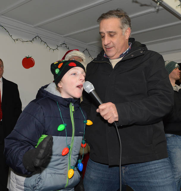 Pittston City Christmas Tree Lighting 2020 Christmas ambassador rings in season at Pittston tree lighting
