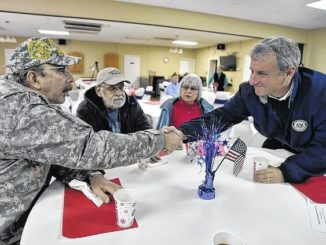 Rep. Cartwright listens to concerns of local veterans at event