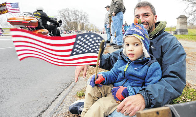 Annual Wyoming Valley Veterans Day Parade honors those who served