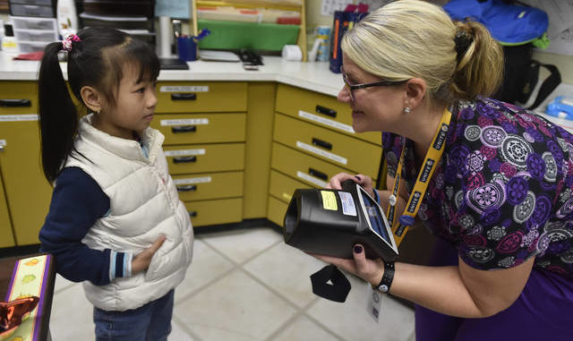 Eye on the prize: United Way brings high-tech vision screening to W-B Area