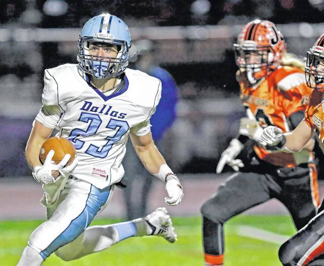 Piaa Football Kelley Scores 5 Tds For Dallas On The Way To Class 4a State Title Game Times Leader