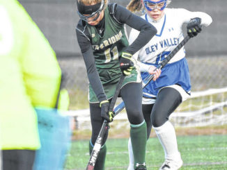 Gladieux proves too potent for Wyoming Area in state field hockey semis