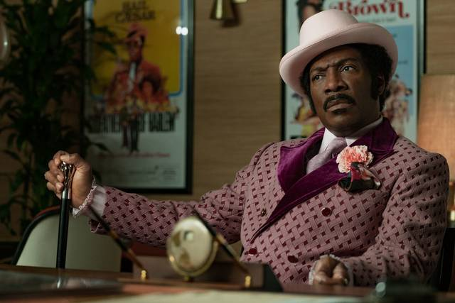 Eddie Murphy stars as Rudy Ray Moore in 'Dolemite Is My Name.' Netflix