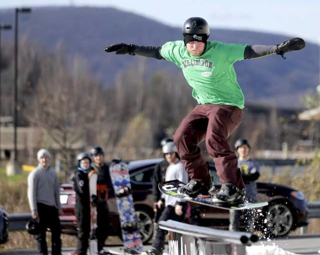Susquehanna Brewing Company becomes snowboarder's paradise for Alejam