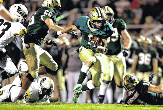 D2 football playoffs: Wyoming Area rolls past Lake-Lehman in 3A semifinals