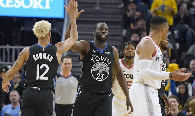 OTS mens Player Rival Tee NBA Medium Slate Grey Houston Rockets James Harden