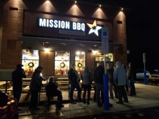 Mission BBQ holds soft opening supporting USO; grand opening Monday