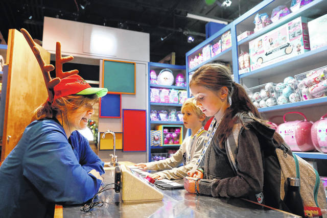 Toy stores hope playtime inside their shops leads to sales
