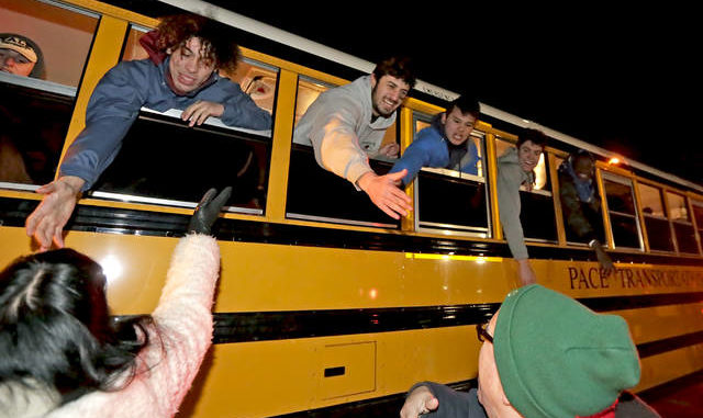 Champions: Wyoming Area receives hero's welcome after winning state title