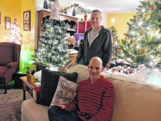'I've loved Christmas since I was a kid,' says WB resident with 31 trees in his apartment