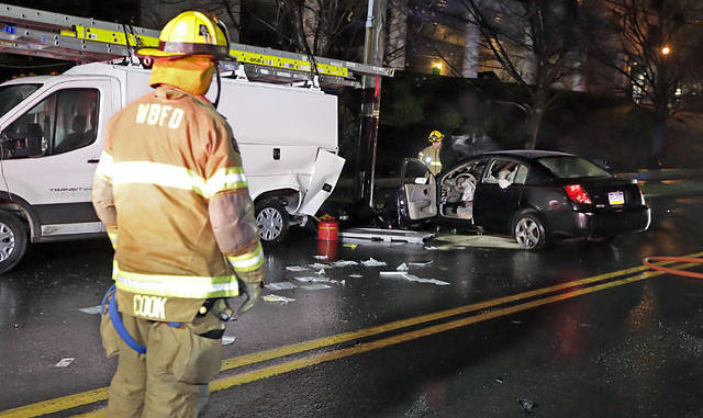 Fiery crash Sunday night in WB | Times Leader