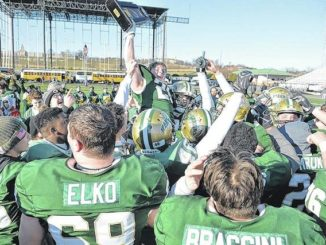 Green and gold: Wyoming Area scores 21 fourth-quarter points to win Class 3A state championship