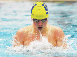 College Corner: Dallas' Luksic helping lead Widener swim team