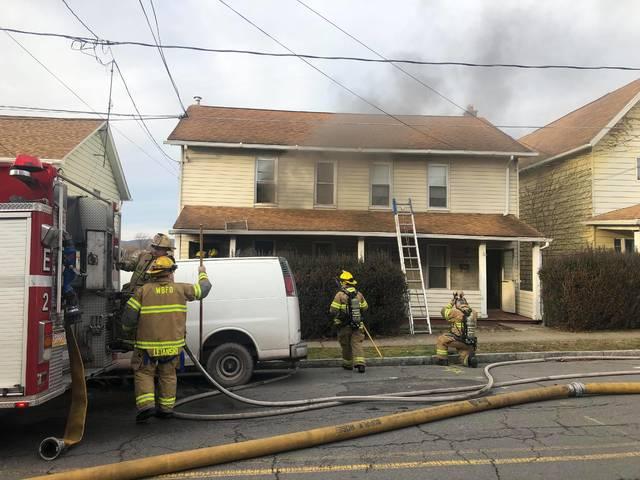 Wilkes-Barre fire victim dies from burns