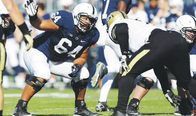 Former Penn State standout John Urschel will make use of his backgrounds in football and mathematics while serving on the College Football Playoff selection committee. Gene J Puskar | AP file