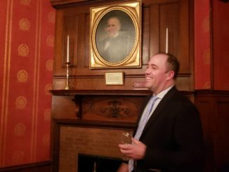 Historical Society, Westmoreland Club team up for tour of historic portraits