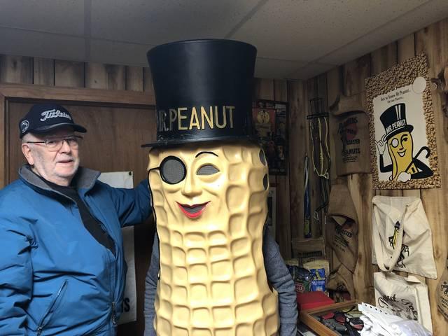 Nanticoke Planters retiree revels in Mr. Peanut lore